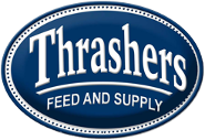 Thrashers Feed and Supply, Logo